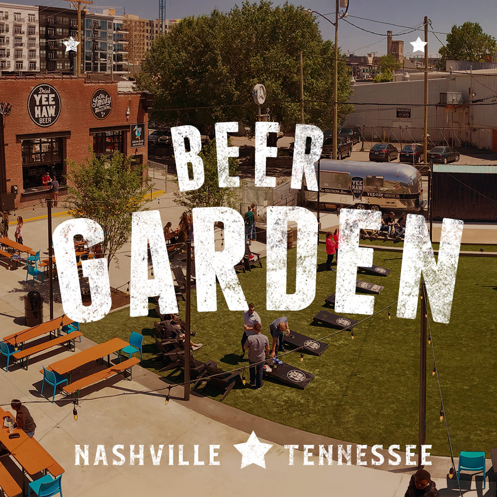 Visit Our Yee-Haw Beer Garden