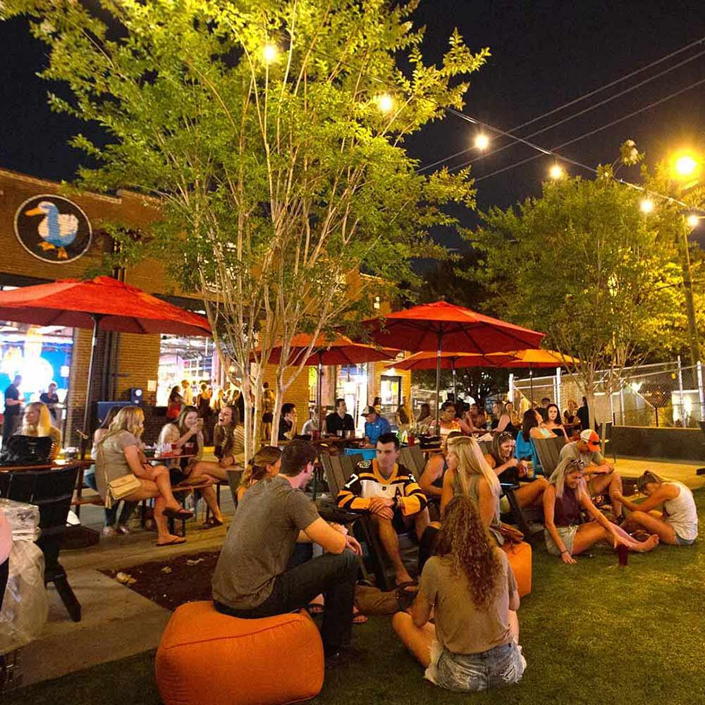 Ole Smoky Yee-Haw Beer Garden, Evening